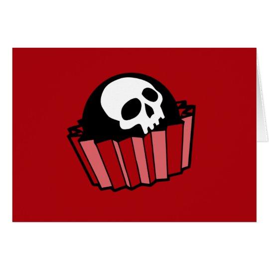 Skull Bonbon Card