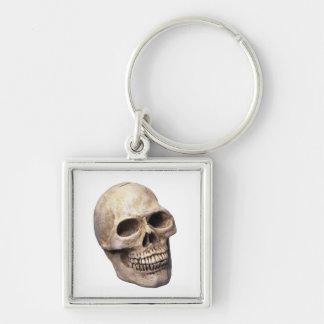 Skull bone keychain