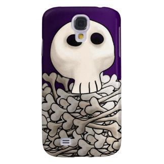 skull bone-pile 3GS Samsung S4 Case