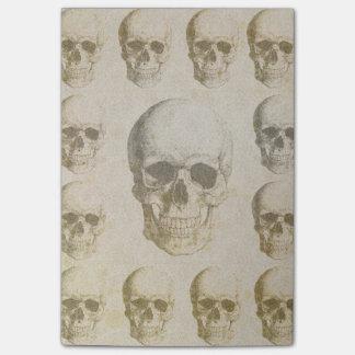Skull&Bones Abstract PosIt Notepad Post-it® Notes