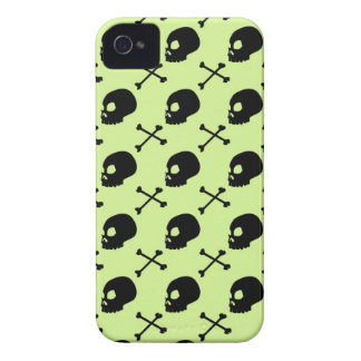 Skull & Bones - Faded Pastel Green iPhone 4 Case-Mate Case