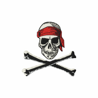 Skull & Bones Pirate logo with bandana