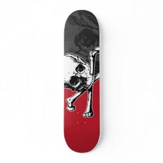 Skull & Bones skateboard