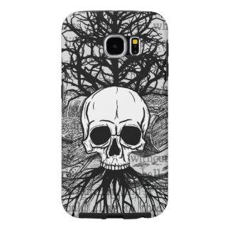{{{ Skull & Books }}} Samsung Galaxy S6 Case