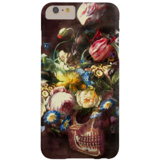 Skull Bouquet Barely There iPhone 6 Plus Case