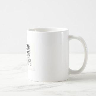 Skull Bridal Couple Coffee Mug
