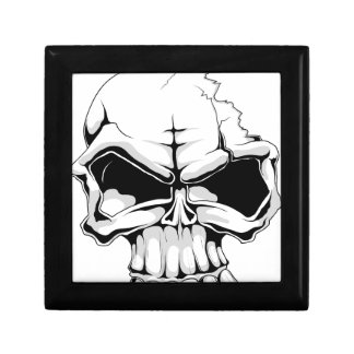 Skull broken head.jpg keepsake box
