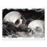 Skull Buddies 4.25x5.5 Paper Invitation Card