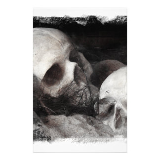 Skull Buddies Personalized Stationery