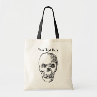 Skull. Budget Tote Bag