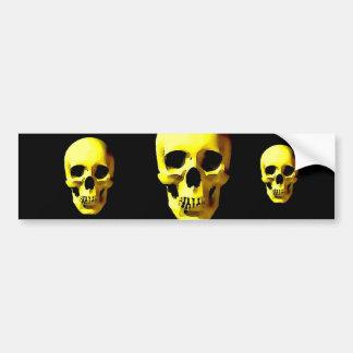 Skull Bumper Sticker