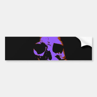 Skull Bumper Stickers