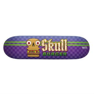 Skull Burger Skateboard