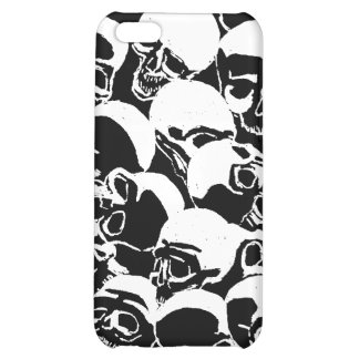 Skull Burial Mound iPhone Case Customize Color iPhone 5C Covers