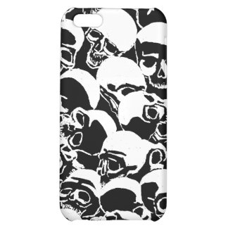 Skull Burial Mound iPhone Case Customize Color iPhone 5C Cases