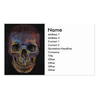 Skull Business Card