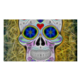 Skull Double-Sided Standard Business Cards (Pack Of 100)
