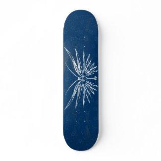 Skull Butterfly Skateboard skateboard