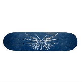 Skull Butterfly Skateboard