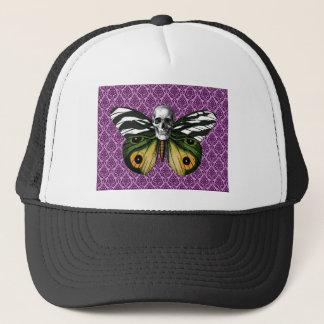 Skull Butterfly Trucker Hat