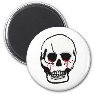 Skull by Asuka Design Refrigerator Magnets