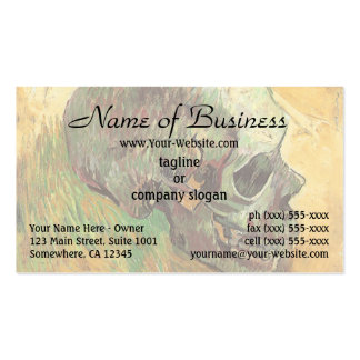 Skull by Vincent van Gogh Double-Sided Standard Business Cards (Pack Of 100)