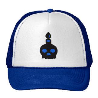 Skull Candle – Blue Trucker Hat