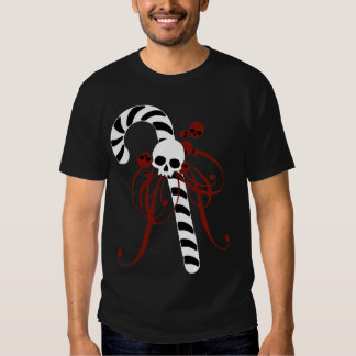 Skull Candy Cane Shirt