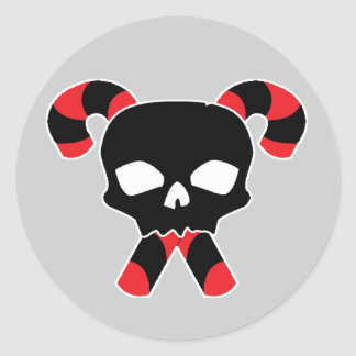 Skull & Candy Xbones Classic Round Sticker