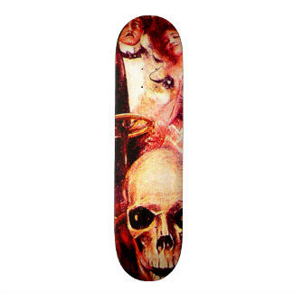 Skull Car Lovers Death Ride Vintage Art Wall Board