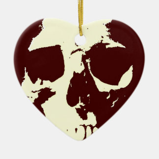 Skull Ceramic Ornament
