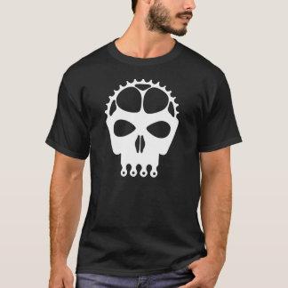 Skull Chainring - White T-Shirt