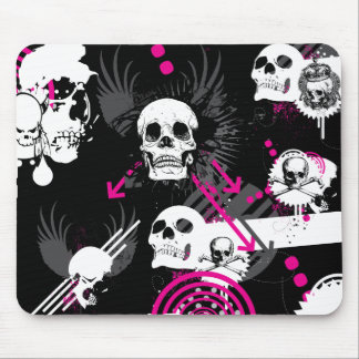 Skull Chaos Mousepad