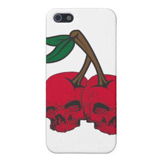 Skull Cherries Cases For iPhone 5