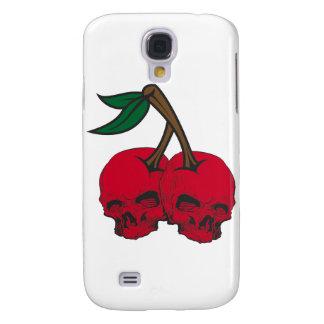 Skull Cherries Galaxy S4 Covers