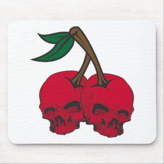 Skull Cherries Mouse Pad