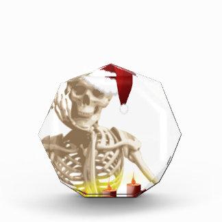 skull christmas award