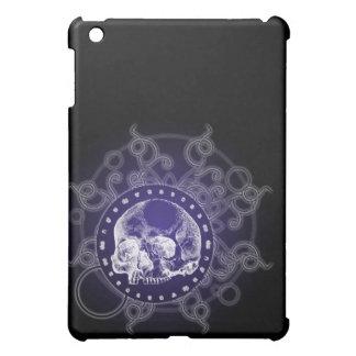 Skull Circle of Death Blue Cover For The iPad Mini