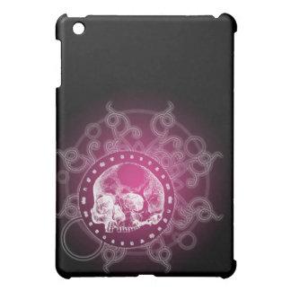 Skull Circle of Death Flare Pink iPad Mini Cover