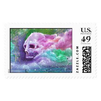 Skull Cloud Fantasy Postage