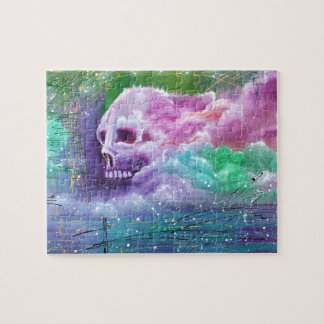 Skull Cloud Jigsaw Puzzle