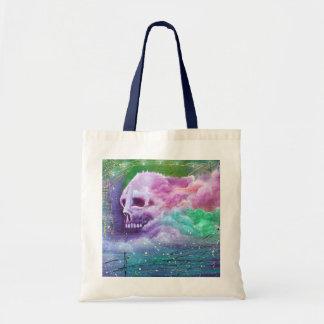 Skull Cloud Tote Bag