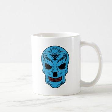 Halloween Themed Skull Coffee Mug