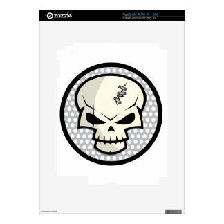 SKULL-COIN SKIN FOR THE iPad 2