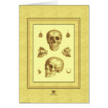 """Skull Collection"" Greeting Card"