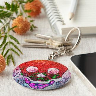 Skull colorful 2 keychain
