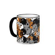 Skull Confetti Mug mug