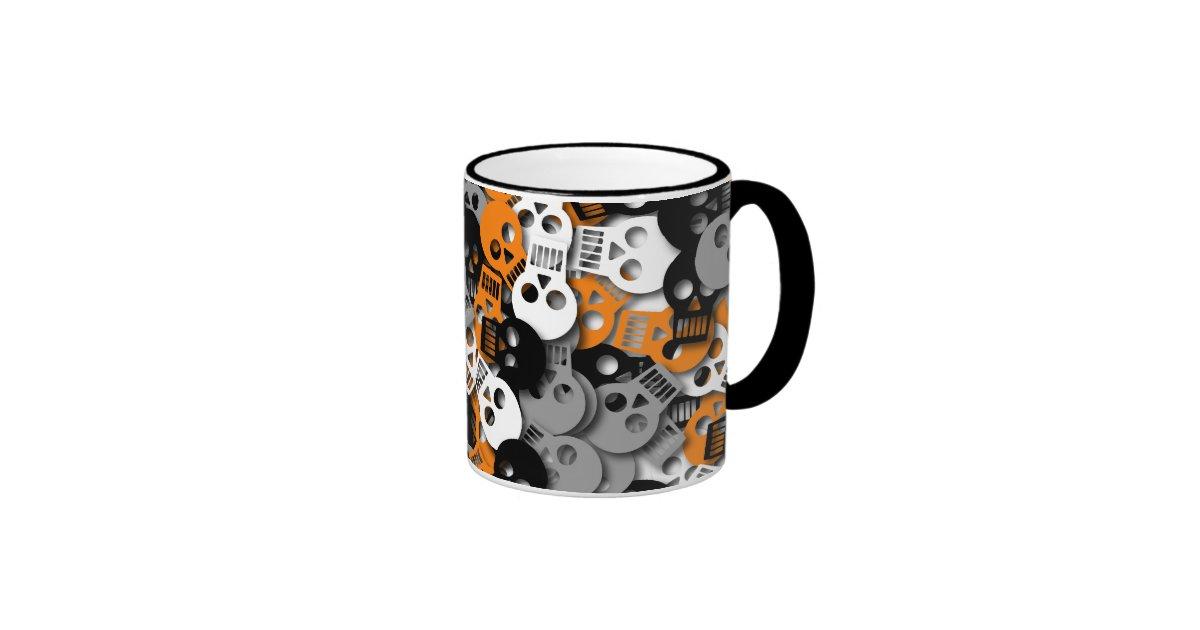 Skull Confetti Mug Zazzle