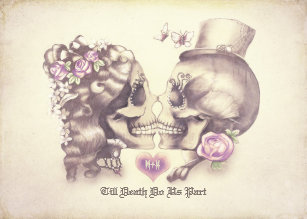 Skull Wedding Invitations | Zazzle