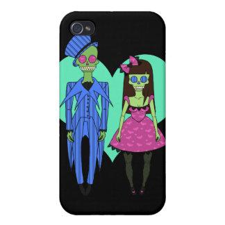 Skull Couple iPhone 4/4S Case
